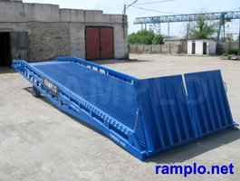 Mobile hydraulic ramps RAMPLO